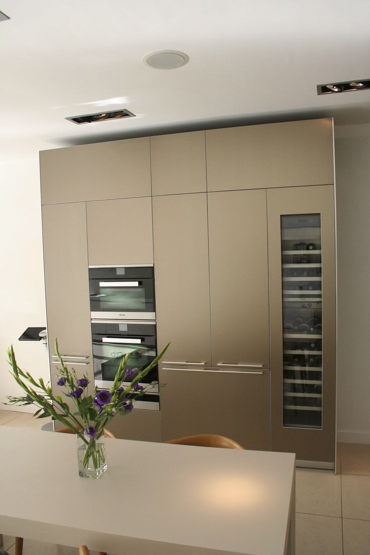 Our new Sand Beige Aluminium Display is complete! Come and see it at bulthaup Winchester.