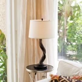 Kudu Horn Table Lamp