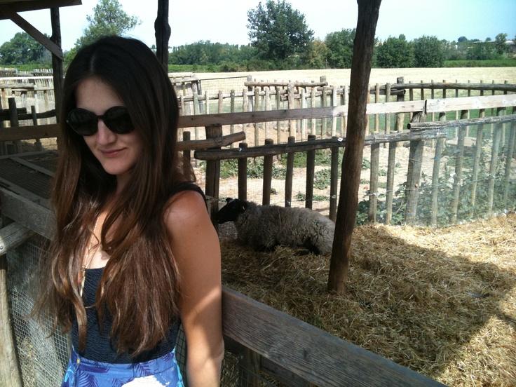 @Chiara Grassi country girl!
