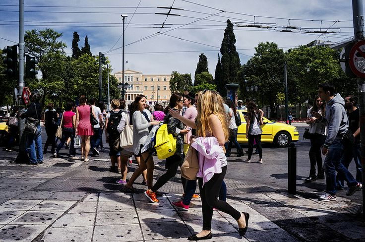 People of Syntagma square