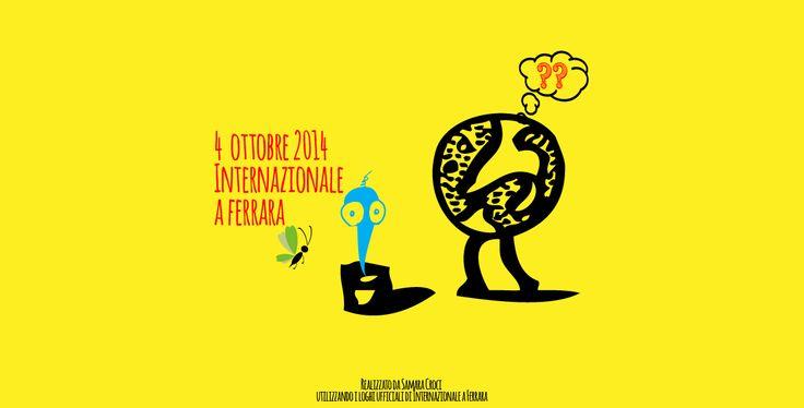 Secondo giorno di Festival di #Internazionale a Ferrara #intfe http://samaracroci.wordpress.com/2014/10/12/secondo-giorno-festival-di-internazionale-a-ferrara/
