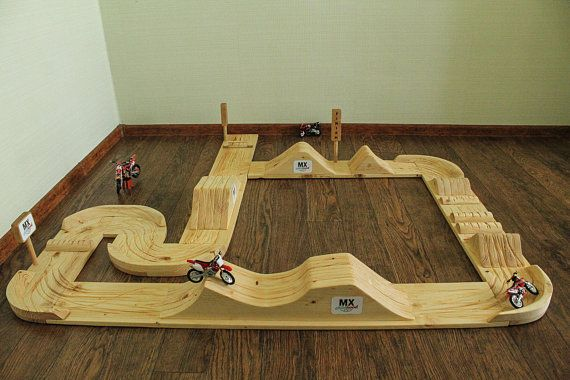 Gift For Kids Large Dirt Bike Play Track Motocross In Your