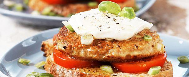 Kyllingkarbonade med tomat og mozzarella