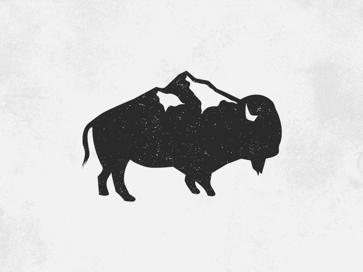 Bison by minimalexa #Design Popular #Dribbble #shots