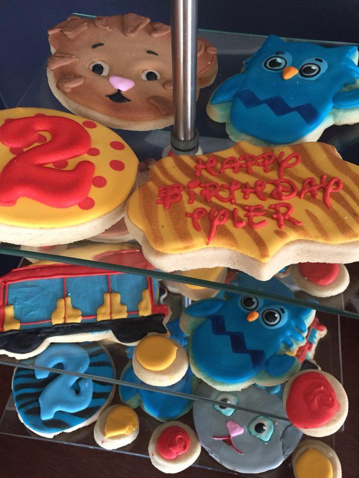 Daniel Tiger Party Cookies Kiddie Stuff Daniel Tiger