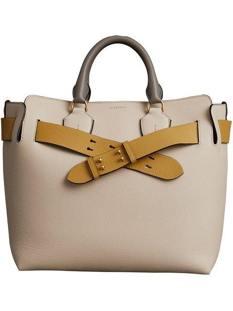 b620f4471556 Shop Burberry The Medium Tri-tone Leather Belt Bag
