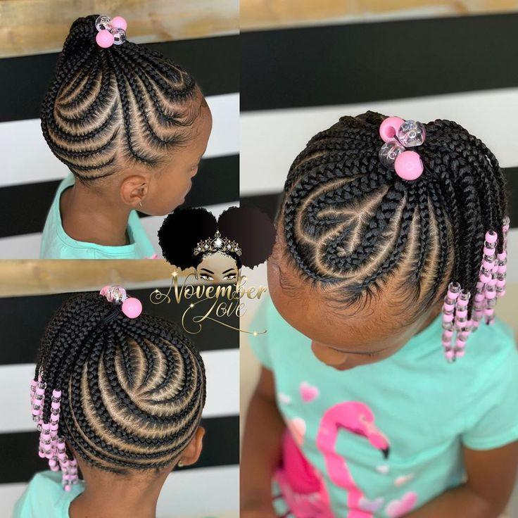 Children's Braids and Beads! Booking Link In Bio! #ChildrenHairStyles #BraidArt #ChildrensBraids #BraidsAndBeads #kidsbraidsatl…
