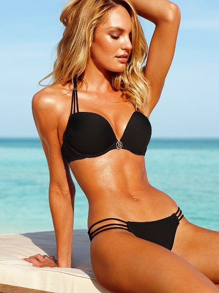 sexy victoria secret bathing suit, rather it in a white or red tho :) #sexy #swimwear #victoriasecret