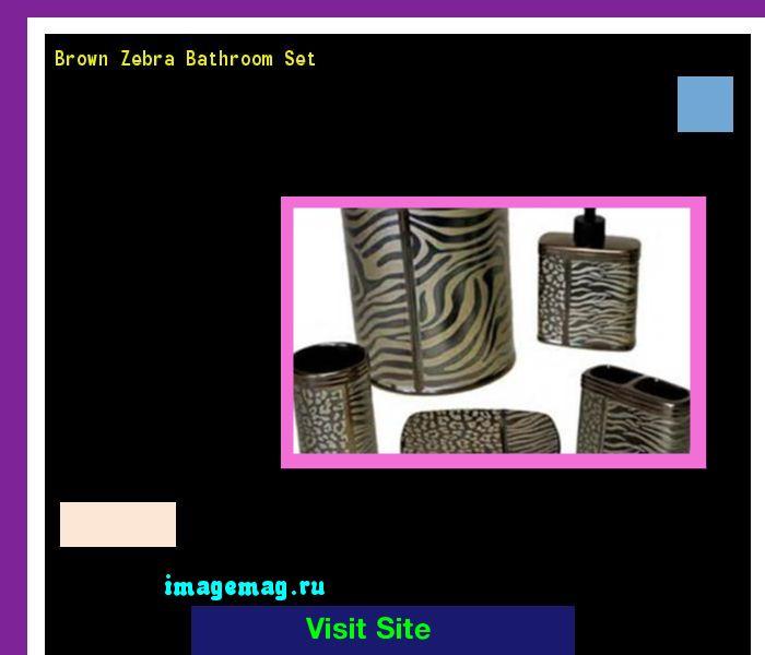 Brown Zebra Bathroom Set 184040 - The Best Image Search
