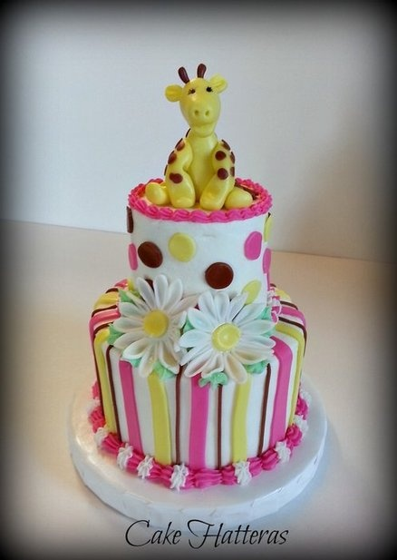 Sophie the Giraffe  Cake by CakeHatteras