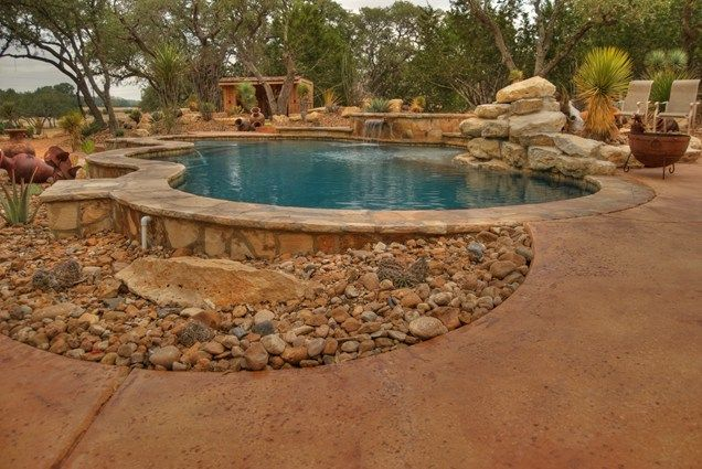 Southwestern Pool, Desert Swimming Pool  Swimming Pool  Landscaping Network  Calimesa, CA