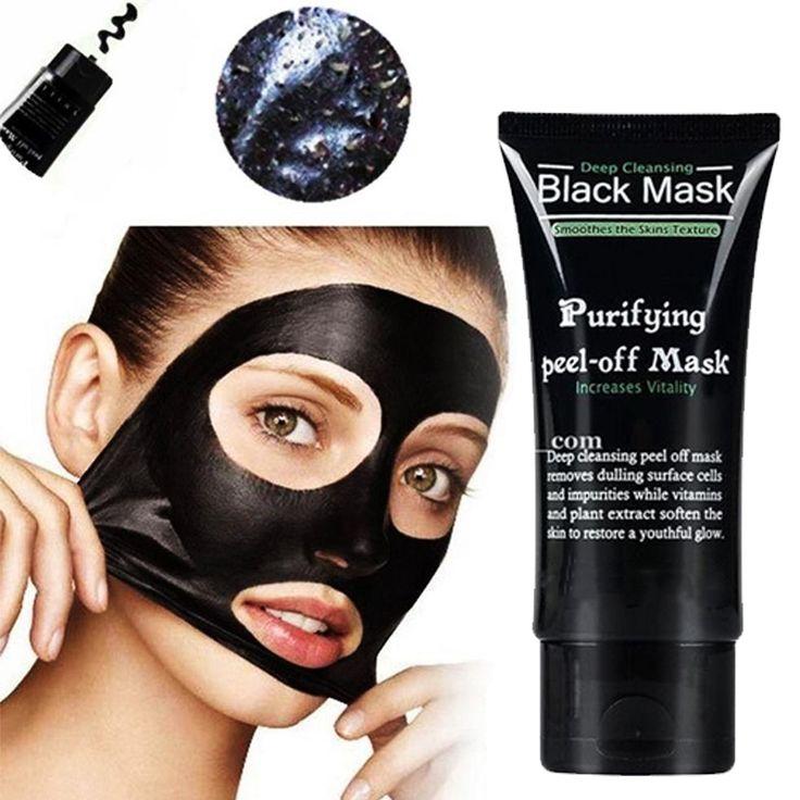 50g Compères Comédons Profonde Visage Masques Nettoyage En Profondeur Purifiant Peel Off Noir Nud Facail Visage Noir Masque Silicone
