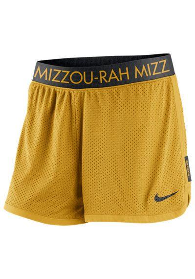 Mizzou Tigers Womens Nike Gold Shorts http://www.rallyhouse.com/shop/missouri-tigers-shorts-tigers-nike-womens-gold-varsity-shorts-12513599?utm_source=pinterest&utm_medium=social&utm_campaign=Pinterest-MizzouTigers $34.00