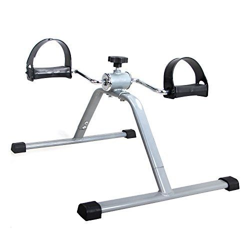 EXEFIT Pedal Exerciser Desk Bike For Leg and Arm Recovery Medical Cycling Exercise, with Anti-slip Mat--19.99