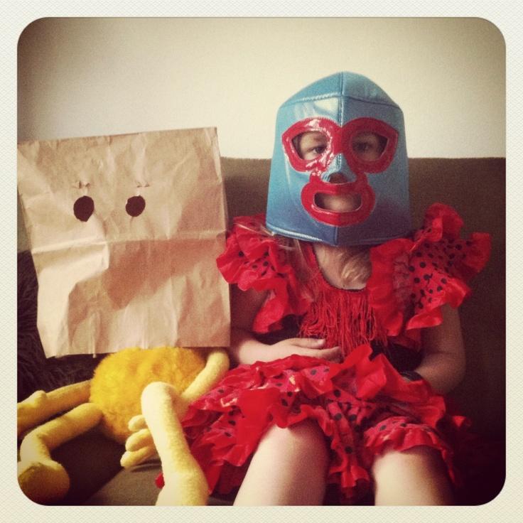 Robo Flat Eric & Flamenco/Wrestler daughter 2012