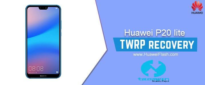 How to Install TWRP Recovery on Huawei P20 lite flash