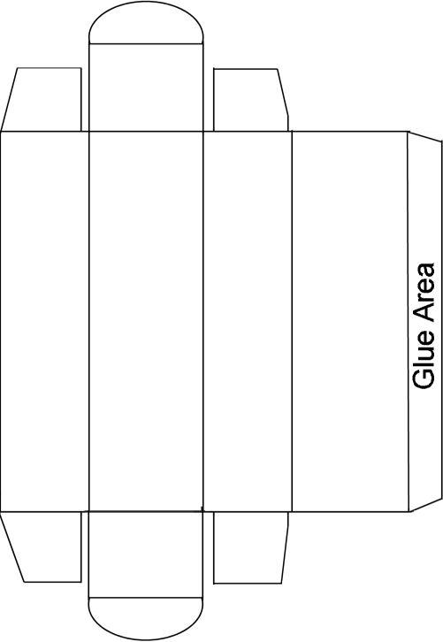 caixa modelo creme dental fafa pinterest templates box and