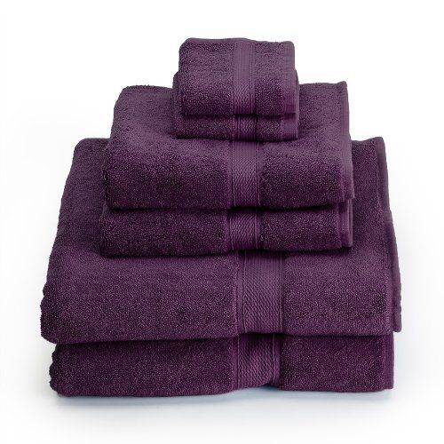 $50.97-$76.00 Baby Supreme Egyptian Cotton 6-Piece Towel Set, Plum - Supreme 800 gsm Egyptian Cotton Towels are soft and luxurious. They are woven with loop terry cloth design of two ply cotton giving them extra strength and absorbency. http://www.amazon.com/dp/B0037KLBDU/?tag=pin2baby-20