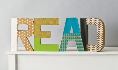 Handmade Charlotte Patterned Letters