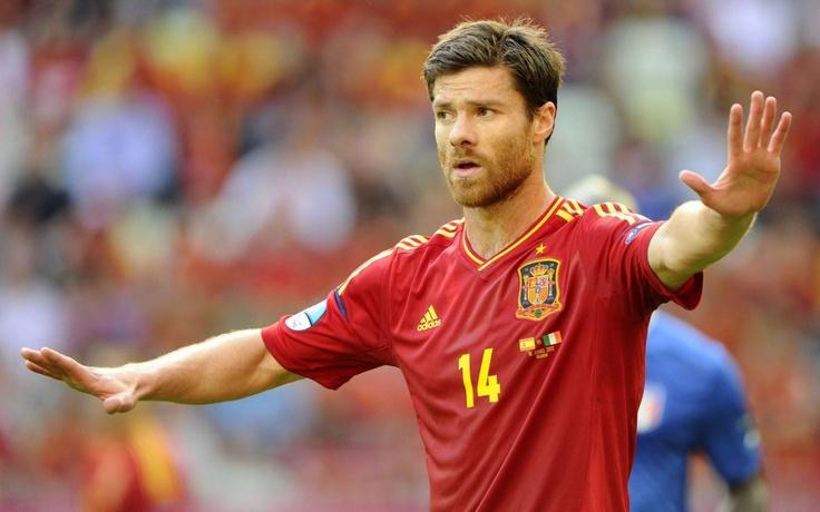 Xabi Alonso (Spain) - Real Sociedad, Liverpool, Real Madrid, Bayern Munchen.