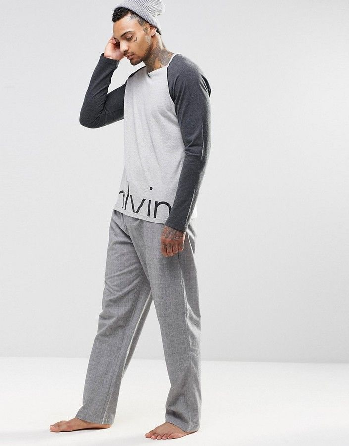 Shop Calvin Klein Woven Lounge Pants in Regular Fit at ASOS. Find this Pin  and more on Men\u0027s Sleepwear ...