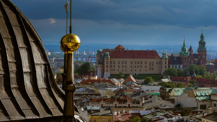 Cracow, Wawel Castle seen from the St. Mary`s Tower by Mark Benedyczak on 500px