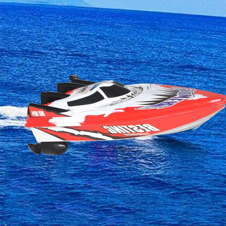 Free Shipping Remote Control RC Super Mini Speed Boat High Performance Boat Toy RC Boat High Speed Racing Boat Kid's Toys - Newest remote control toys shop