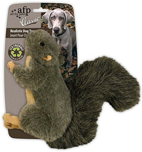 All for Paws Classic Squirrel Pet Toys Small