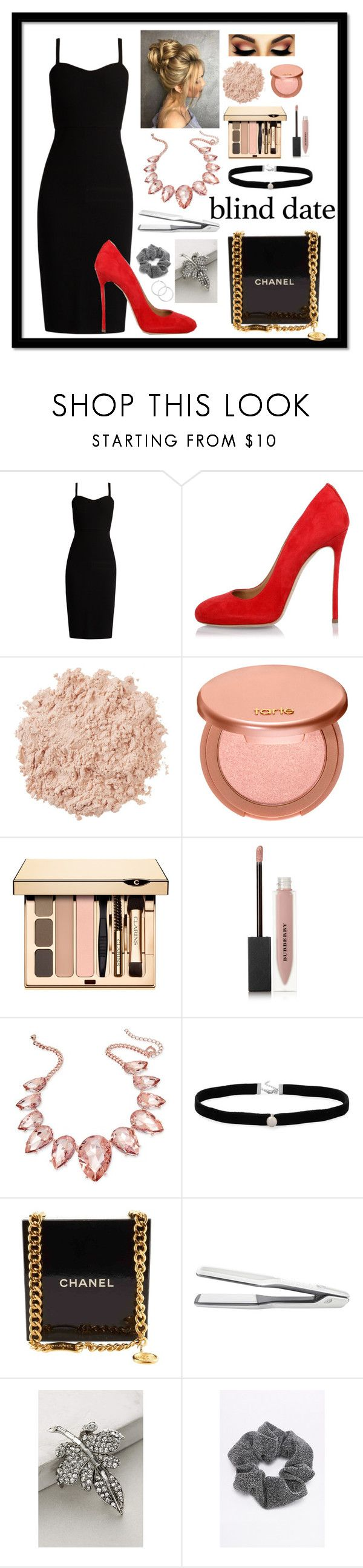 """""""Lil' black dress"""" by ma3-w3iss ❤ liked on Polyvore featuring MaxMara, Dsquared2, La Mer, tarte, Burberry, Thalia Sodi, Amanda Rose Collection, Chanel, T3 and Miss Ellie"""