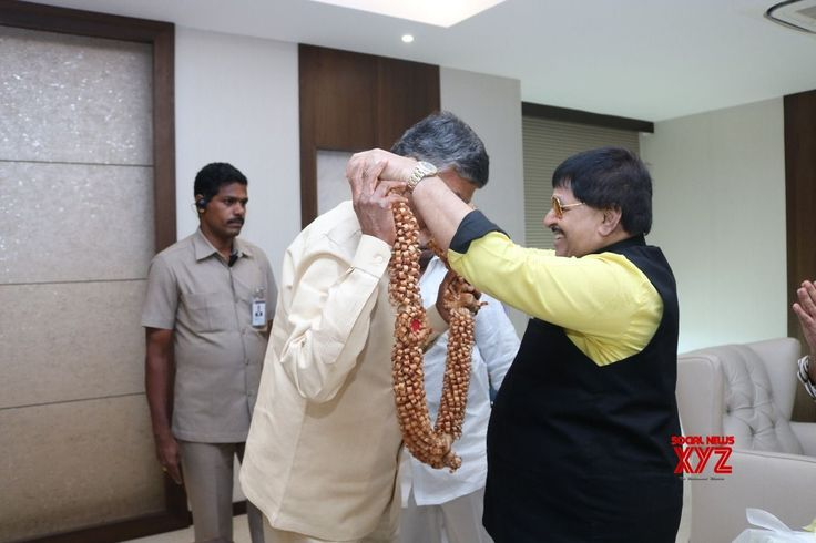 APFDC Chairman Ambica Krishna With Chandrababu Naidu Stills - Social News XYZ