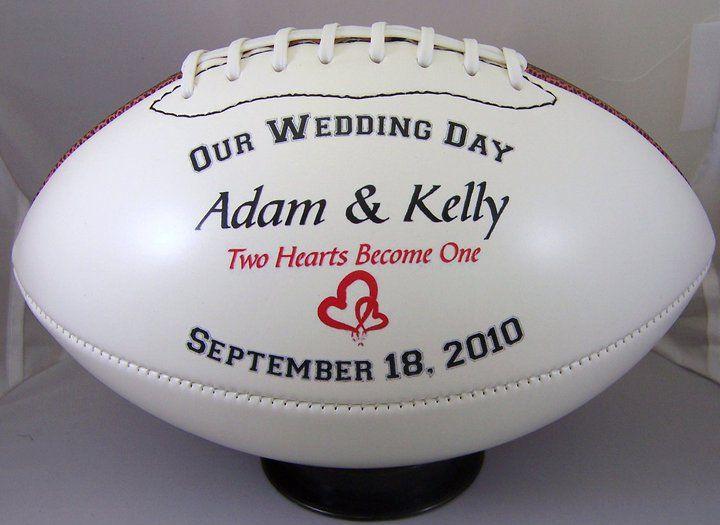 groomsmen gifts, football