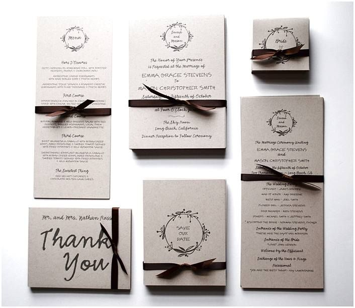 Wedding Invitation Sets If The Wedding Is To Take Place In A Private Residence Wedding Invitation Packages Buy Wedding Invitations Create Wedding Invitations