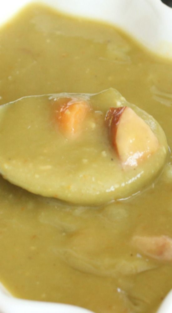 Split Pea Soup (Electric Pressure Cooker).