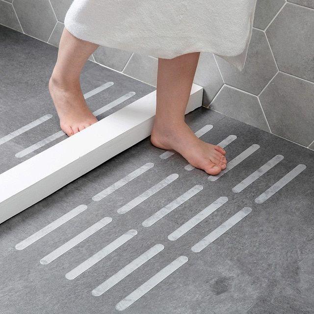 5pcs Pack Bathroom Transparent Anti Slip Stickers Stair Tape Bathroom Bathtub Shower Anti Slip Toile Shower Anti Slip Bathtub Shower Bathrooms Designs Pictures