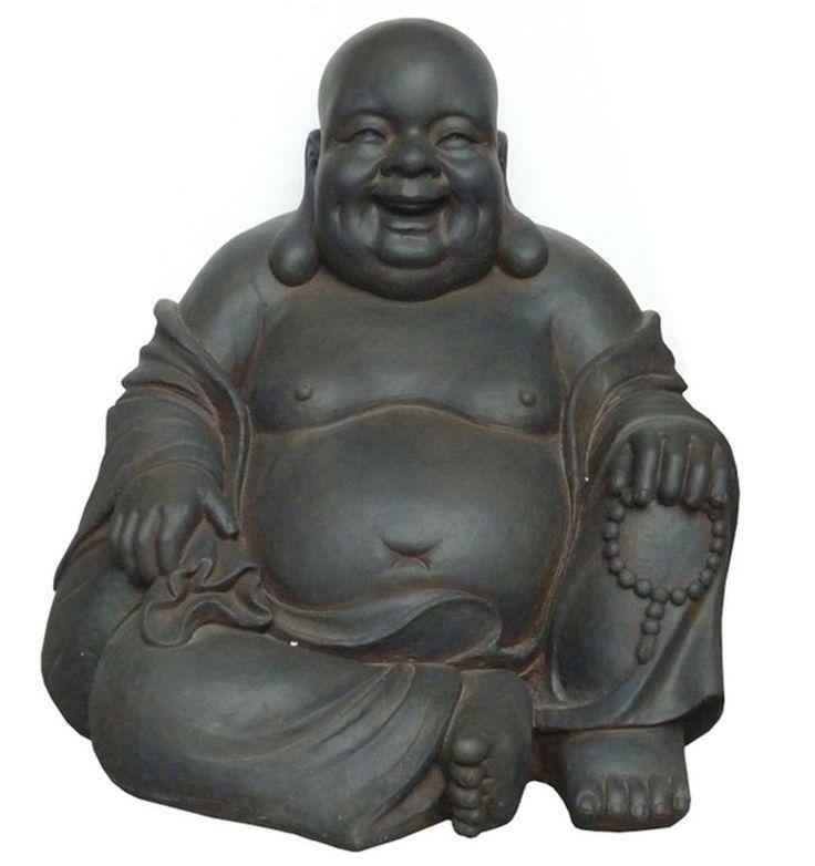 "All Line 24"" Happy Sitting Buddha Statue, Large  #buddha #statue #decor"