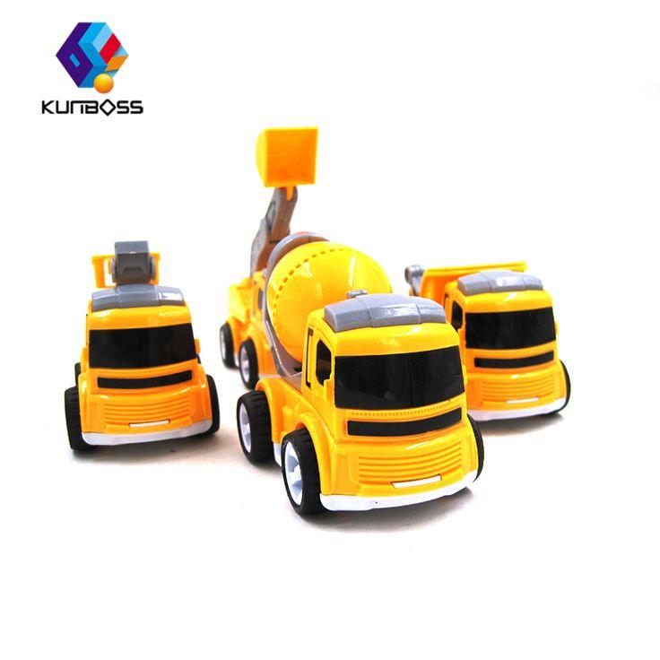 4Pcs/Set Kids Toy Car truck Scale Model truck children Toy Vehicles miniature truck plastic kids toys  car toys for children #Affiliate