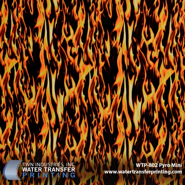 WTP 802- Pyro Mini Hydro Dipping Film (Flames)