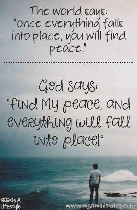 Find God's peace facebook.com/donttakethemark