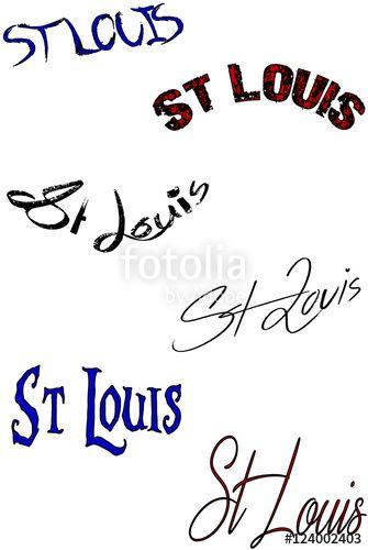 """Scarica il vettoriale Royalty Free  """"St Louis Text Sign collage"""" creato da morgan capasso al miglior prezzo su Fotolia . Sfoglia la nostra banca di immagini online per trovare il vettoriale perfetto per i tuoi progetti di marketing a prezzi imbattibili!"""
