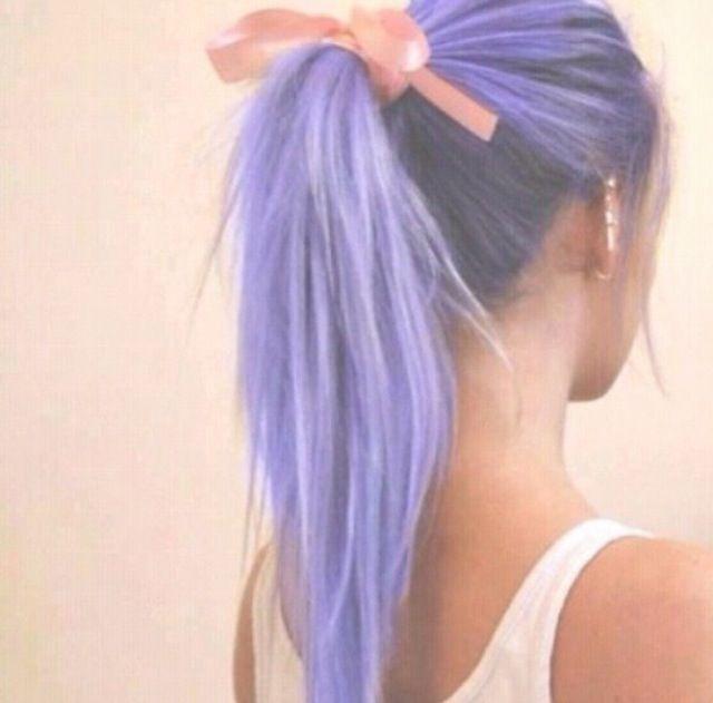 Light purple hair