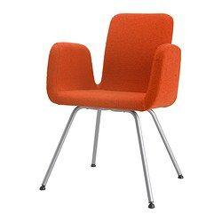 PATRIK Konferansestol - Ullevi oransje - IKEA