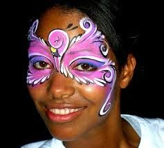 Image result for flamingo face painting