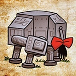 James Hance inspired by Star Wars and Winnie the Pooh