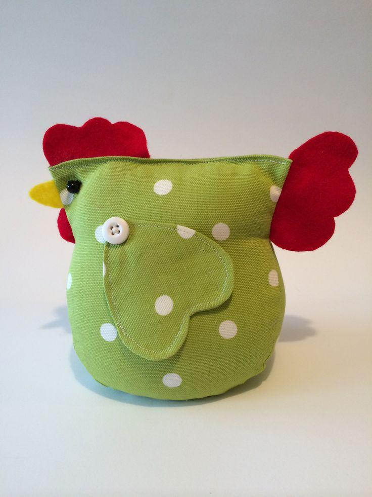 Tope de puerta pollo de A Bundle Of Crafts en Facebook   -    Chicken Door Stop Taken From Facebook Page A Bundle Of Crafts