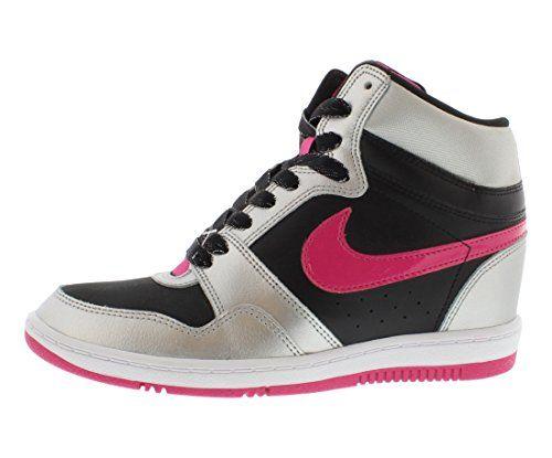 back to basics Nike Force Sky High Womens Basketball Shoes 629746-006