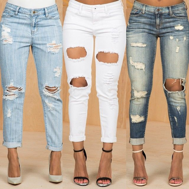 1000+ Images About Jeans On Pinterest | High Waisted Denim Jeans Ripped Jeans And Follow Me