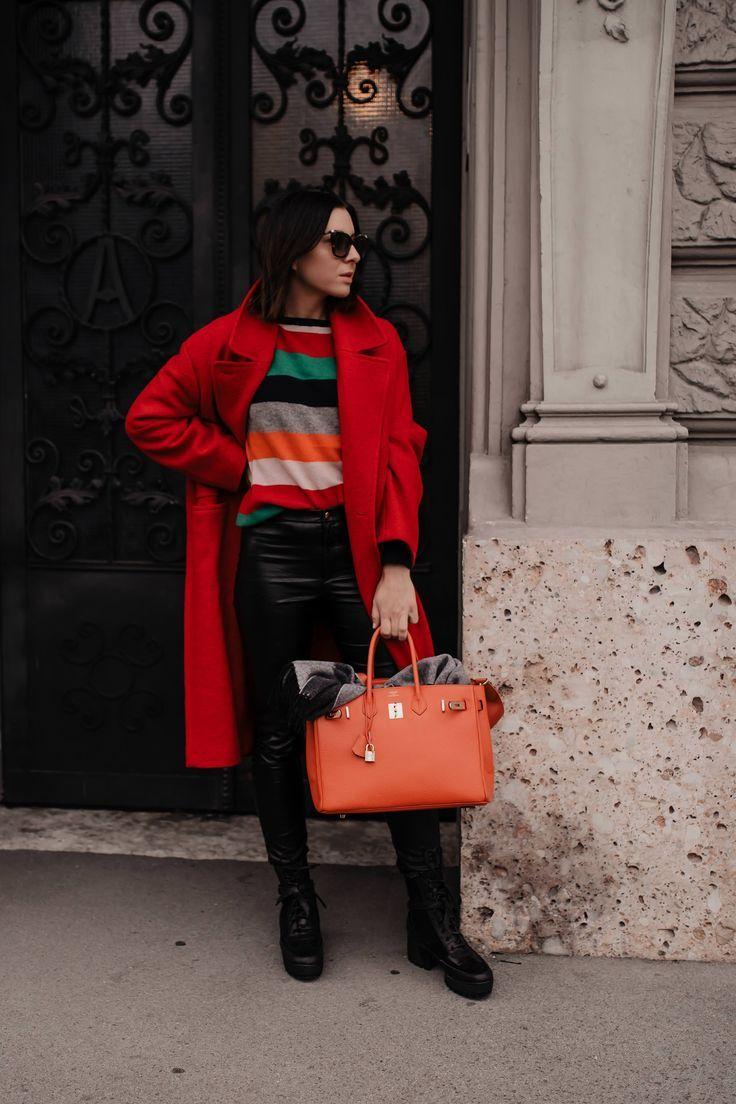 Rote Schuhe kombinieren Meine Outfit Idee! Fashion Blog