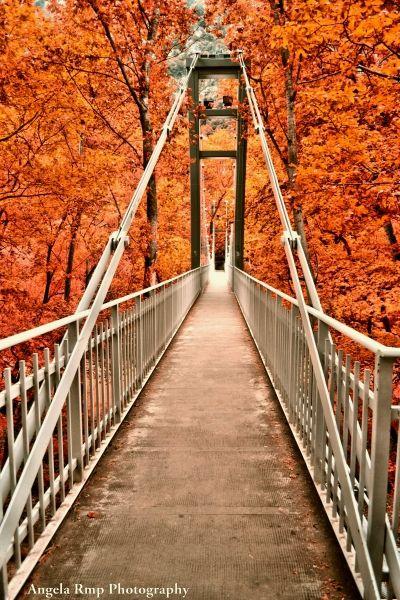 Bridge of Tempi in mainland Greece