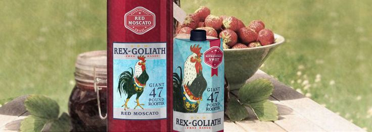 Rex Goliath Red Moscato Sweet Wine - Bold Wines, Fun Times