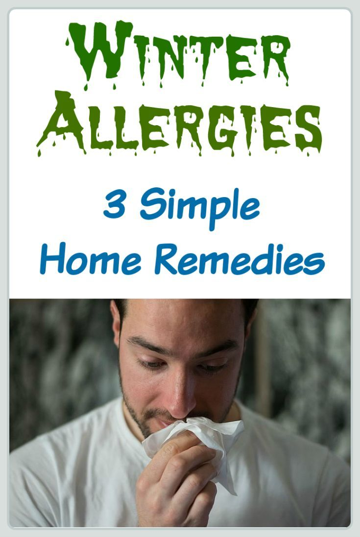 Winter Allergies: 3 Simple Home Remedies | Allergy (Environmental
